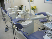 清潔な診療室